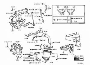 Toyota Celica Hose  Actuator  Exhaust  Engine