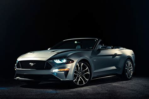 Wallpaper Ford Mustang Convertible 2018 4k Automotive