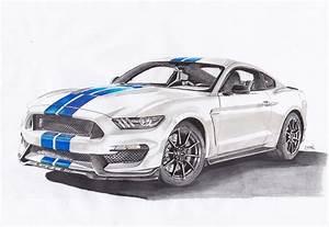 Ford Mustang Shelby Occasion : ludodessine ses 10 meilleurs dessins des voitures qui font l 39 actu ~ Gottalentnigeria.com Avis de Voitures