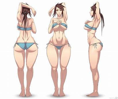Female Type Stylized Deviantart Shapes Drawings Anime