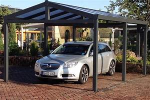 Carport En Aluminium : carport toit double pente carport aluminium abri de ~ Maxctalentgroup.com Avis de Voitures