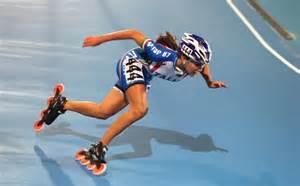 Inline Speed Skating Roller