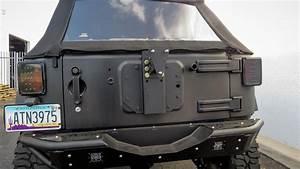 2007 - 2018 Jeep Jk Venom Tire Mount  Add Offroad