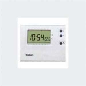 Thermostat D Ambiance : thermostat d 39 ambiance lectronique programmable theben ~ Edinachiropracticcenter.com Idées de Décoration