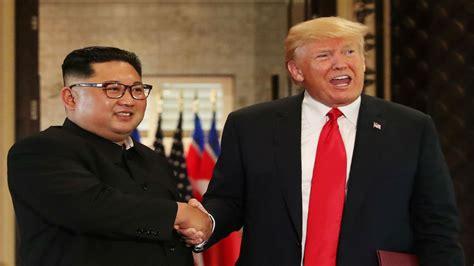 donald trump kim jong  sign historic document