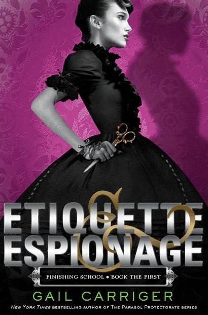Etiquette Espionage Title Brown Under Status Finish