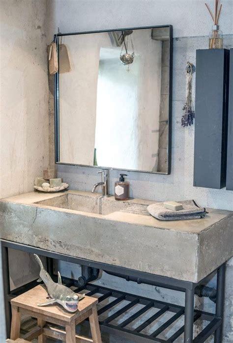 bathroom sink 32 trendy and chic industrial bathroom vanity ideas digsdigs Industrial