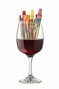 Wine and Paint Classes at Beaufort Arts Council