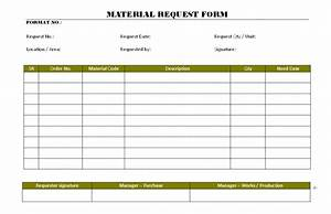 39 material request form template endowed dreamswebsite With construction material request form template