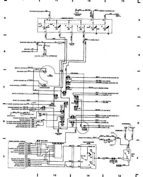 1999 Jeep Wiring Schematic by Wiring Diagram Wellread Me