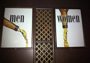 92 best images about unique bathroom signs on pinterest for Cool bathroom signs