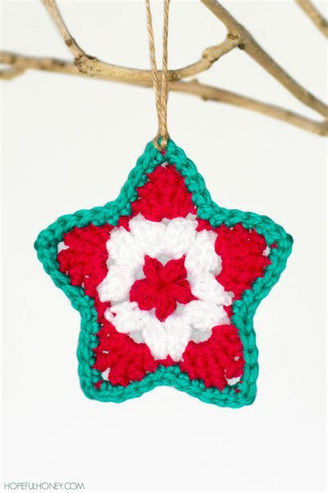 star christmas ornament crochet pattern favecraftscom