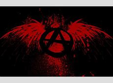 Anarchy, Circle A, Eagle, Paint Splatter Wallpapers HD