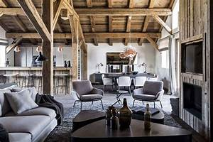 Earthy, natural interior design with nice texture