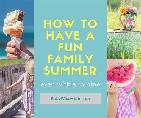 How To Have A Fun Summer Even With A Routine Chronicles