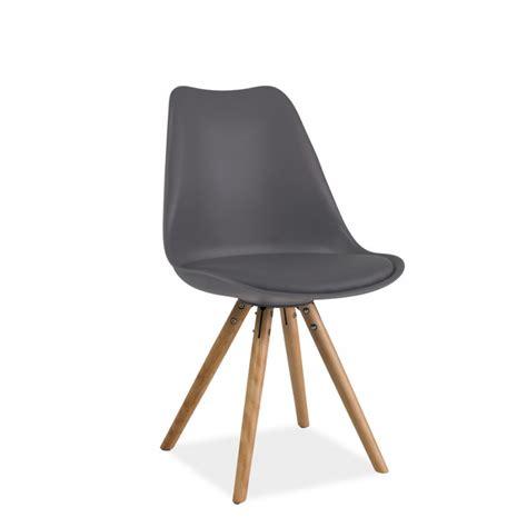 chaise pied en bois chaise scandinave dsw design eames 4 pieds bois blanc