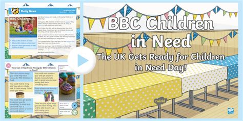 * New * Lks2 Bbc Children In Need Daily News Powerpoint