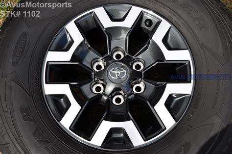 2016 Toyota Tacoma Oem Factory 16
