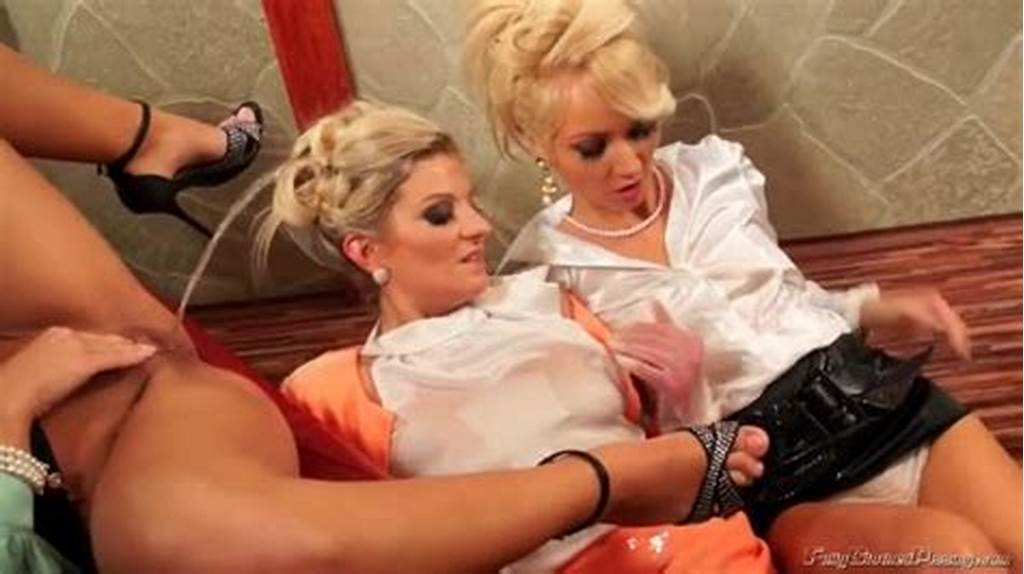 #Lesbians #In #Blouses #Piss #On #Each #Other