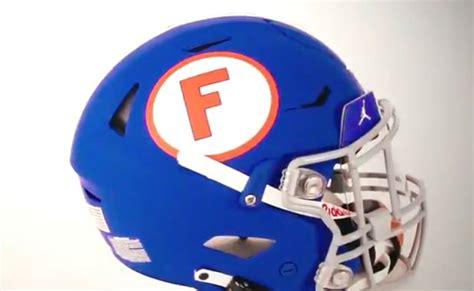 LOOK: Florida Gators unveil blue throwback helmets as part ...