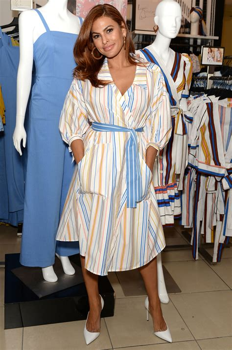 Get The Exact Dress Eva Mendes Wore From Her Collection