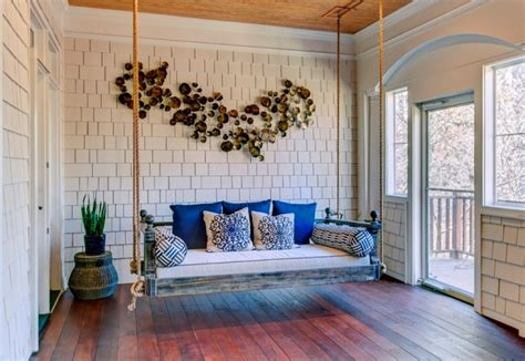 handmade porch swing designs decorating ideas