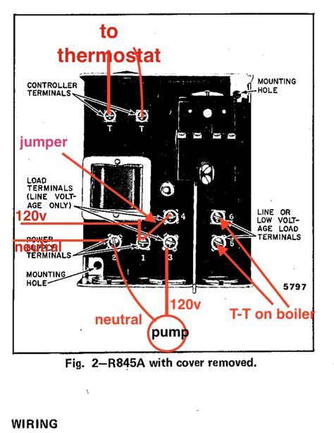 honeywell r845a wiring diagram fuse box and wiring diagram