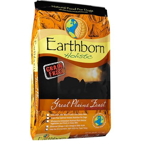 earthborn holistic natural grain  gluten  dry dog food