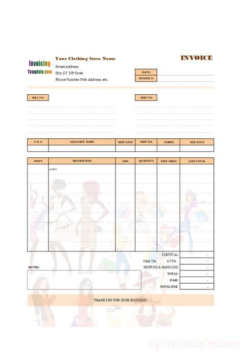 invoice templates  excel