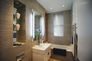 eclairage salle de bains lequel choisir cote maison With eclairage sdb led