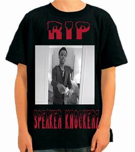 RIP SPEAKER KNOCKERZ Anvil Youth T Shirt 905B 905B2035