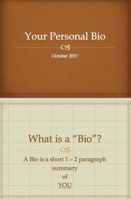 biography template word excel  formats