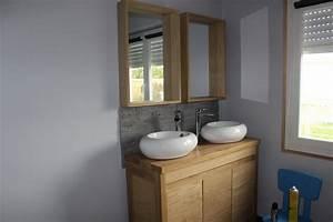 meuble double vasque brico depot chaioscom With double vasque salle de bain brico depot