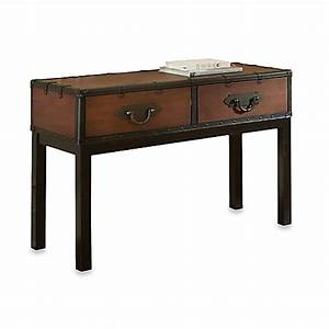 buy steve silver co voyage sofa table in cherry from bed With bed bath and beyond sofa table