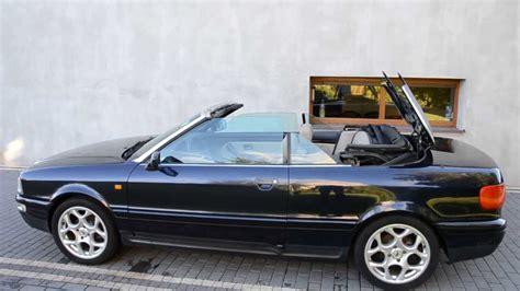 Dach Audi 80 B4 Cabrio Otwieranie Dachu