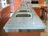 glass counter tops Glass Countertop is the Latest Trend to Hit the Kitchen and Bath Market Says ThinkGlass