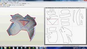 1 - (Downloading, Scaling & Printing Files) Foam Pepakura ...