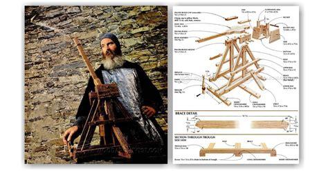 toy trebuchet plans woodarchivist