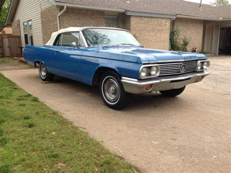 Buick Lesabre Convertible For Sale by Buick Lesabre Convertible 1963 Blue For Sale 4j8003209