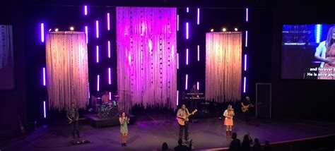 ghosts church stage design ideas