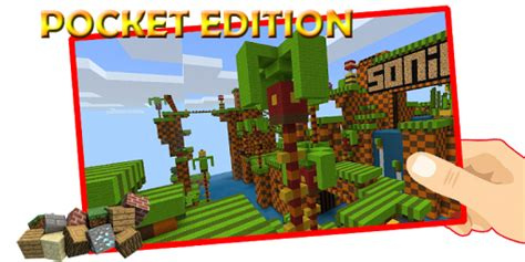 hedgehog sonic mod mcpe mod apk unlimited android