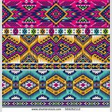 Neon Tribal Print Background | 450 x 470 jpeg 93kB