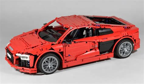 lego audi r8 lego technic audi r8 v10 the lego car