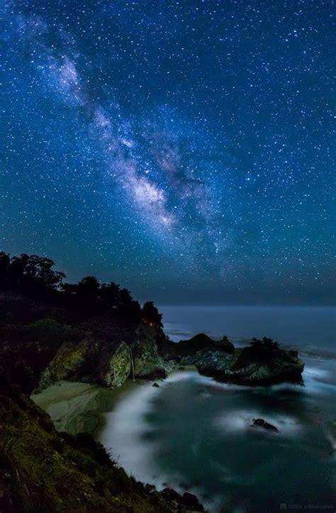 Milky Way Galaxy Above Big Sur California Photo