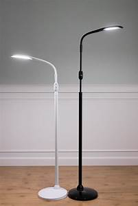 stellasky two led floor lamp adaptivision With pizzazz led floor lamp