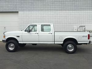 Clean 1997 Ford F250 Crew Cab Xlt 4x4 Short Bed 7 3