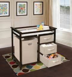 Amazoncom  Badger Basket Modern Changing Table with