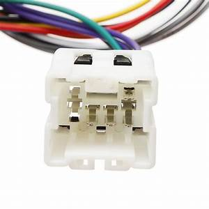 New Car 4pin 9pin Iso Wiring Harness Stereo Radio Cable
