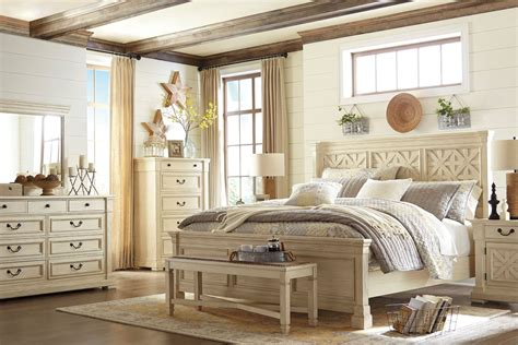 bolanburg white panel bedroom set  ashley coleman
