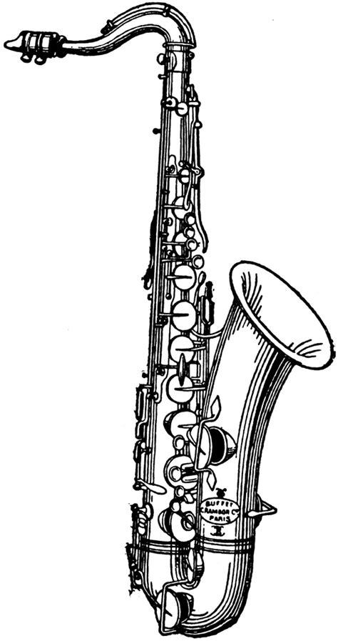 Saxophone Clipart Saxophone Clipart Etc